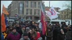 Митинг с требованием отставки Матвиенко