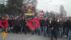 Протести во Скопје поради убиството во Гостивар