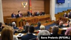 Konstitutivna sjednica novog saziva Skupštine Crne Gore, 23. septembar 2020.