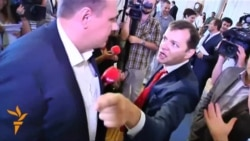 Lawmaker Takes A Punch In Ukrainian Parliament