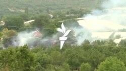Maqedonia e Veriut përballet me zjarre