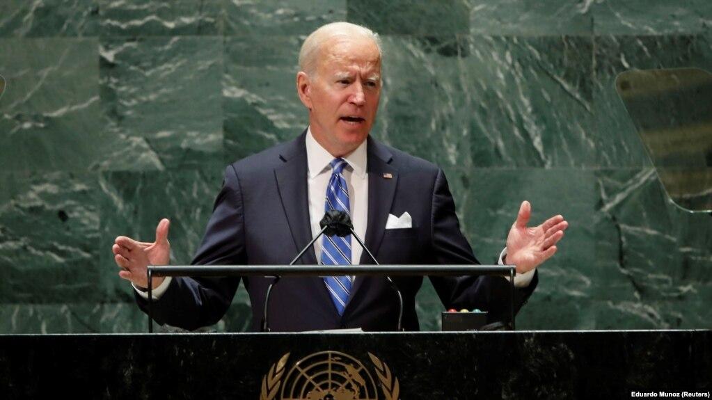 جو بایدن روز سهشنبه برای نخستین بار در مقام ریاستجمهوری آمریکا در مجمع عمومی سازمان ملل سخنرانی کرد.