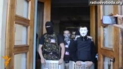 Донецк телемұнарасын басып алу