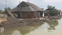 Большая вода в Мактаарале: тысячи пострадавших