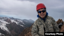 Альпинист, саяхатшы әрі кәсіби гид Андрей Алмазов. Оның жеке архивіндегі фото.