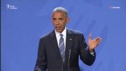 Обама закликав Трампа протистояти Росії (відео)
