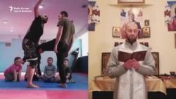 Preotul luptător al Ucrainei