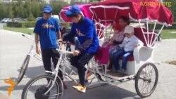 Астанадағы велотакси