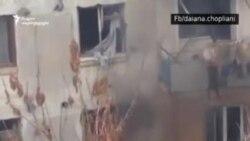 В Тбилиси штурмуют квартиру предполагаемого боевика