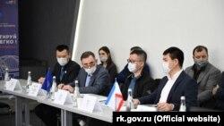 Візит «делегації представників ділових кіл Китаю» до Криму, березень 2021 року