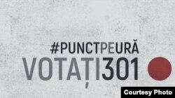Coaliția pentru incluziune și nediscriminare lansează Campania #PunctPeUră!Votați301!, Chișinău, 15 februarie 2021.
