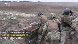 Hadgyakorlat a Krím közelében