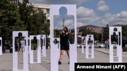 Obeležavanje Međunarodnog dana nestalih u Prištini