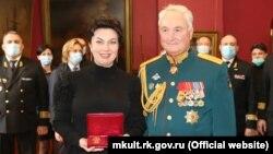 Арина Новосельская награждена медалью Министерства обороны России, 28 ноября 2020 года