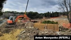 Строительство спортивного лагеря в Форосе