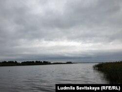 Берег Псковского озера, граница с Эстонией