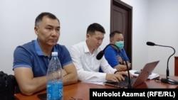 Равшан Джеенбеков в зале суда. Август 2021 года.