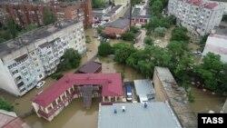 Наводнение в Керчи. 17 июня 2021 года