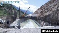 Пскем ГЭСи қурилиши 2017 йили бошланган.