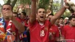 Երկրպագուները հավատում են Հայաստանի հավաքականի հաղթանակին