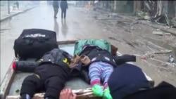Тисячі людей залишають схід Алеппо (відео)