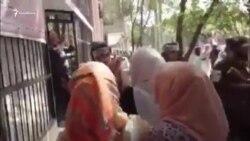 В Кабуле талибы отступили под давлением участников акции протеста