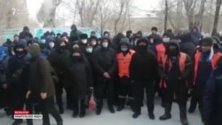 «У нас безысходность». Протест рабочих в Жезказгане