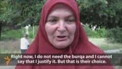 veil Balkan Woman 3