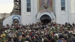 Thousands Bid Farewell To Dead Belarusian Protester