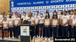 Conferința de presă de pe aeroportul Otopeni