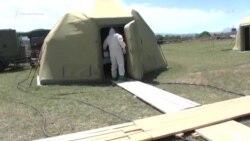 Дагестан: военные развернули госпиталь для больных COVID-19