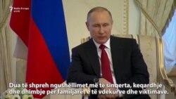 Putin dënon sulmin në metro