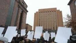 Ի աջակցություն գերեվարված և անհետ կորած զինվորականների երթի մասնակիցները նամակ հանձնեցին ՌԴ դեսպանատուն