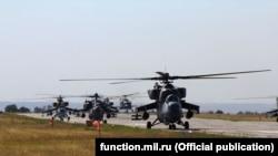 Учения российской авиации в Крыму, сентябрь 2020 года