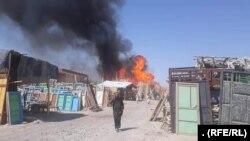 Lupte în Qala-e-Naw, capitala provinciei Badghis