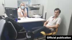 Суҳроб Каримов экани айтилаётган шахс Киев банки бошқарувчисини қўлга олди