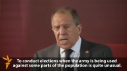 Lavrov: New Talks On Ukraine Would Be Pointless
