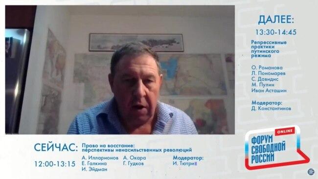 Андрей Илларионов. Выступление на форуме Свободной России