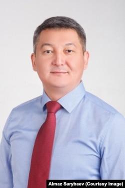 Алмаз Сарыбаев.