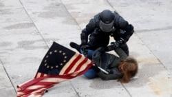 Videó: az erőszakos tömeg a Capitoliumban