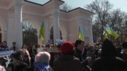 Хроники крымского сопротивления: как активисты в Крыму призывали не идти на «референдум» (видео)