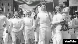 "Кадр из фильма Григория Александрова ""Цирк"" (1936 год)"