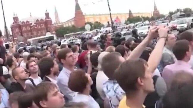 Преследование Навального
