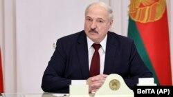 Aleksandr Lukașenka, Minsk, 27 octombrie 2020.