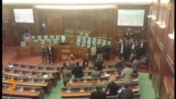 Tensione në Kuvendin e Kosovës