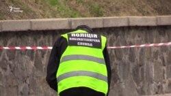 На місці вибуху у центрі Києва працювали вибухотехніки (відео)