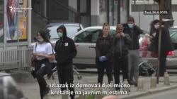 Disciplinom u Tuzima ugašeno žarište epidemije u Crnoj Gori