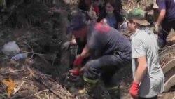 მოხალისეები ვერეს ხეობას ასუფთავებენ