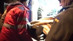 Ніч неспокою для парамедиків в Авдіївці. Є жертви (відео)