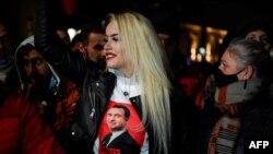 Косово- поддржувачите на Самоопределуање ја прославуваат изборната победа, 14.02.2021